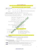 Công thức sinh học ôn thi THPT quốc gia đầy đủ chi tiết