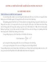 CHƯƠNG 10 THIẾT kế HT điều KHIỂN BẰNG PHƯƠNG PHÁP KGTT