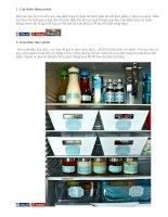 8 tuyệt chiêu ''''nới rộng'''' tủ lạnh nhỏ cho nhà chật