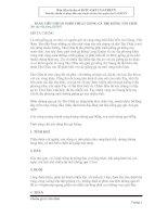 bản tiêu chuẩn nghệ thuật gà kiểng Tân Châu  An Giang (văn bản gốc của gatrevn)