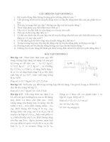 bài tập tổng hợp môn truyền động điện