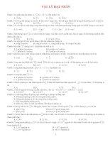 120 câu trắc nghiệm vật lý hạt nhân   luyện thi đại học   có đáp án
