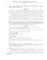 TUYỂN CHỌN 150 BÀI TOÁN BỒI DƯỠNG HSG LỚP 5 (phần 1)