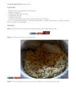 Cách làm thịt bò khô cực ngon chuẩn bị đón Tết