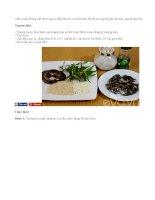 Cháo lươn bổ dưỡng cho cả nhà