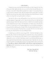 Báo cáo thực tập tại MobiFone chi nhánh Bình Định