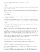 Soạn bài thông điệp nhân ngày thế giới phòng chống AIDS 1- 12- 2003