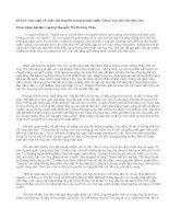 Cảm nghĩ về nhân vật ông Hai trong truyện ngắn Làng của nhà văn Kim Lân