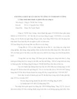 Báo cáo thực tập kế toán chi phí nguyên vật liệu tại công ty Sơn Cường (55 trang)