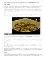 Những món ăn nhẹ ngăn ngừa cảm lạnh