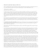 Phân tích Vào phủ chúa Trịnh của Lê Hữu Trác