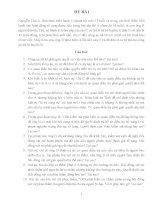 Bài tập nhóm tố tụng hình sự đề số 2 Bài tập nhóm tố tụng hình sự đề số 2 Nguyễn Văn A, (khi thực hiện hành vi phạm tội mới 17 tuổi