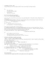 Ôn tập Ngữ pháp Tiếng Anh 7  Bài 1: ADVERBS OF TIME