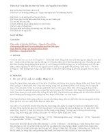 Phân tích 9 câu đầu bài thơ Đất Nước của Nguyễn Khoa Điềm