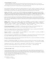 Văn phạm Tiếng Anh căn bản-Bài 4:  Mạo Từ A, An, The
