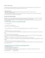Ngữ pháp tiếng anh căn bản- Bài 30(hết): Giới từ và các cấu trúc câu trong tiếng anh