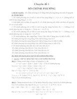 Các chuyên đề bồi dưỡng học sinh giỏi toán 8