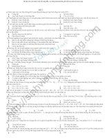 Bộ đề thi vi mô có đáp án gồm 50 câu trắc nghiệm môn kinh tế vĩ mô