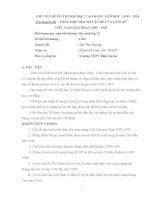 TỔNG hợp một số vấn đề CỦA LỊCH sử VIỆT NAM GIAI ĐOẠN 1930   1945