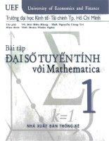 Bài tập đại số tuyến tính với mathematica