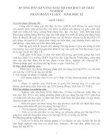HƯỚNG dẫn kĩ NĂNG GIẢI NHANH bài tập TRẮC NGHIỆM PHẦN HOÁN vị GEN – SINH học 12