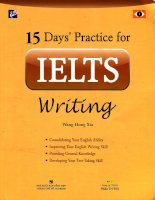 15 days practice for IELTS writing a