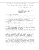 HỆ THỐNG lý THUYẾT và bài tập về KIM LOẠI KIỀM KIỀM THỔ và hợp CHẤT QUAN TRỌNG của CHÚNG