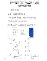 BÀI GIẢNG kỹ THUẬT đo LƯỜNG   chương 5 các cơ cấu chỉ thị