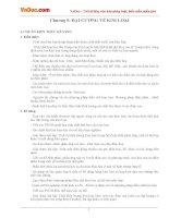 Ôn tập Hóa học lớp 12 chương 5: ĐẠI CƯƠNG VỀ KIM