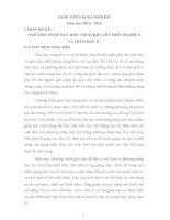 PHƯƠNG PHÁP dạy học TÍCH hợp LIÊN môn số học 6 và HÌNH học 8