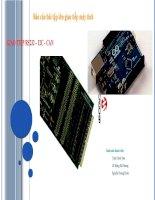 Báo cáo bài tập lớn giao tiếp máy tính giao tiếp rs232 – i2c   can