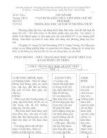 VẬN DỤNG KIẾN THỨC LIÊN môn và CHỦ đề TÍCH hợp TRONG dạy HOC LỊCH sử ở THCS