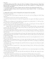 Ôn tập lớp TCCT  Những vấn đề về Đảng cộng sản và lịch sử Đảng cộng sản Việt Nam