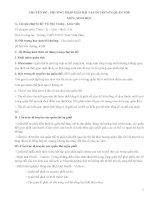 CHUYÊN đề  PHƯƠNG PHÁP GIẢI bài tập DI TRUYỀN QUẦN THỂ