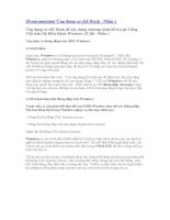 Ứng Dụng Cơ Chế Hook Để Xây Dựng Chương Trình Hỗ Trợ Gõ Tiếng Việt Trên Hệ Điều Hành Window 32 Bit