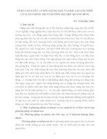 NÂNG CAO CHẤT LƯỢNG GIẢNG dạy và học tập các môn lý LUẬN CHÍNH TRỊ ở TRƯỜNG đại học QUẢNG BÌNH