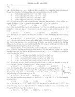 đề thi vật lý đại cương