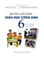 hướng dẫn học giáo dục công dân 6 sách thí điểm pdf
