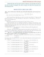 500 bài TOÁN CHỌN lọc lớp 5