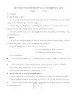 Đề Cương Bồi Dưỡng HSG Lí 9 (Phần Lí thuyết)