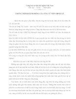 Bài phát biểu tiếp xúc cử tri của UCV HDND xã.