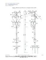 kết cấu trạm biến áp và chi tiết vật tư