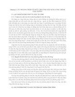 Chương v các PHƯƠNG PHÁP tổ CHỨC THI CÔNG xây DỰNG CÔNG TRÌNH GIAO THÔNG