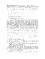 Phân tích đoạn thơ Kiều ở lầu Ngưng Bích của đại thi hào Nguyễn Du