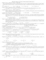 phương pháp giải các bài tập thêm lượng chất và các dạng bài tập tham số