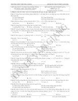 Bộ đề ôn thi TN năm 2011( Lưu hành nội bộ)