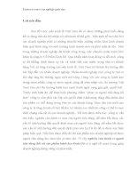 NGHIÊN cứu HÀNH VI NGƯỜI TIÊU DÙNG đối với sản PHẨM BÁNH kẹo KINH đô