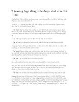 7 TRƯỜNG HỢP ĐẢNG VIÊN ĐƯỢC SINH CON THỨ BA
