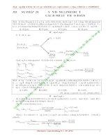 Vận dụng linh hoạt các phương pháp định luật  bảo toàn để giải nhanh bài tập hóa học lớp 10_11_12