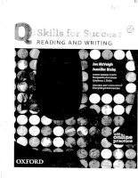 Q skill for success reading and writing 2